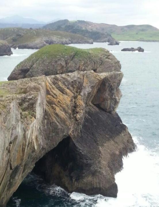 Vistas al mar para escaparse celebrar una escapada San valentin en Llanes-Cara de Cristo- Celorio- Llanes