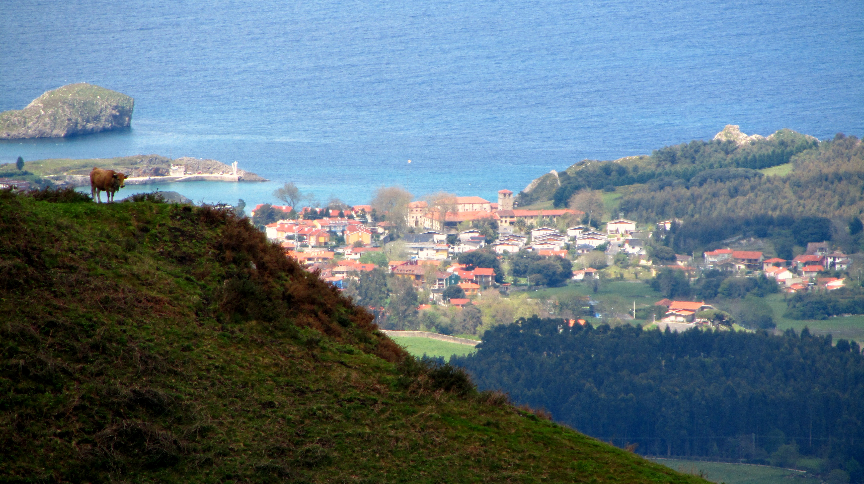 Vista desde La Sierra del Cuera- Llanes- Hoteles en Llanes